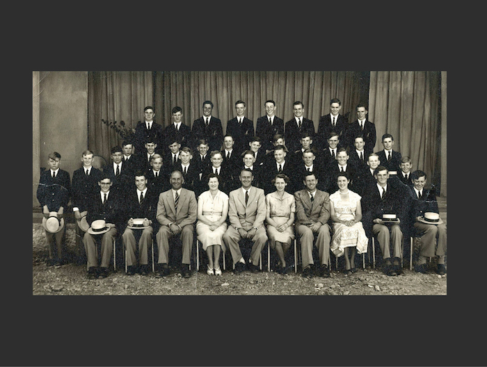1954 Founding Staff & Pupils