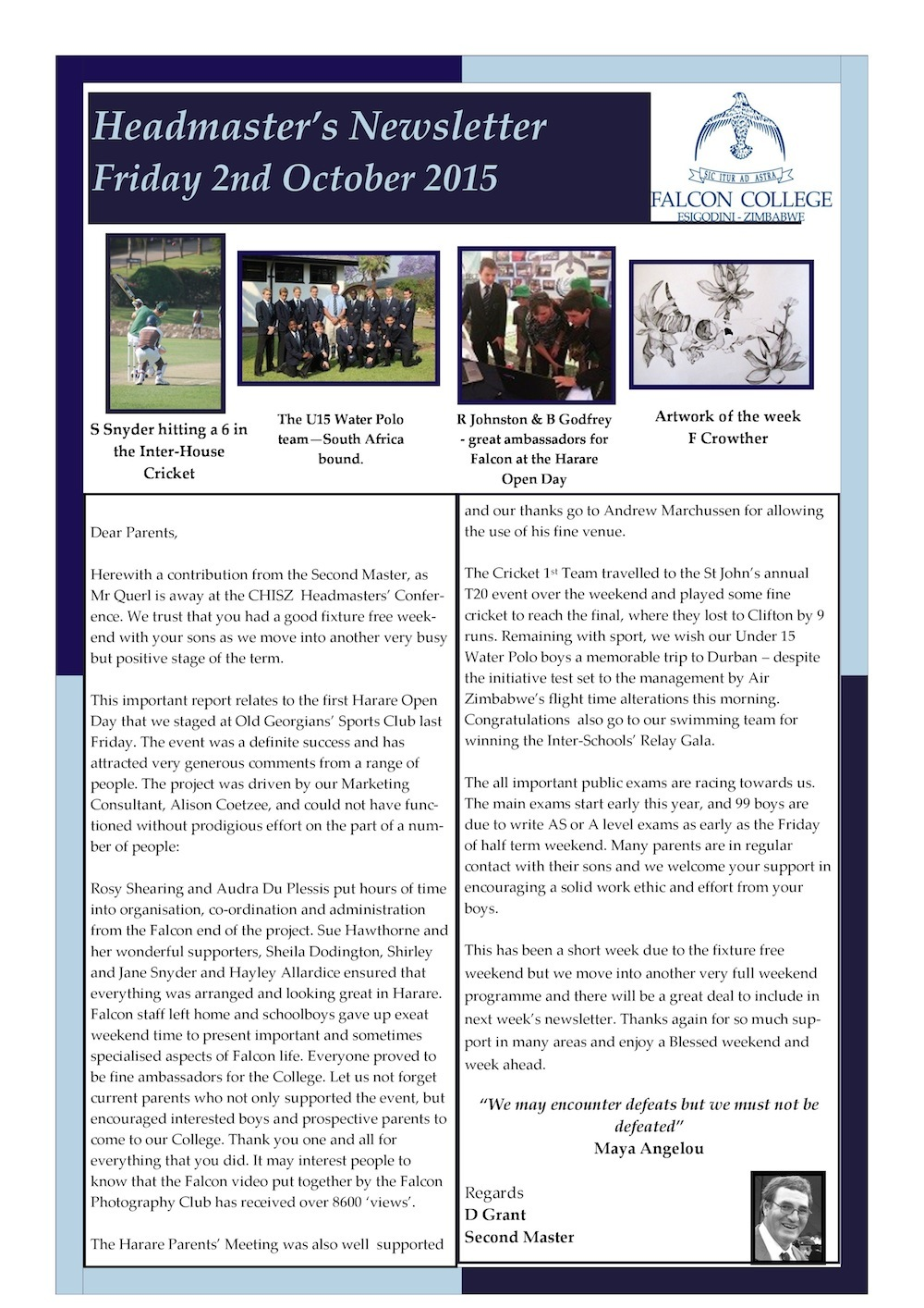 Headmaster's Newsletter Friday 2nd October 2015 edited-page-0