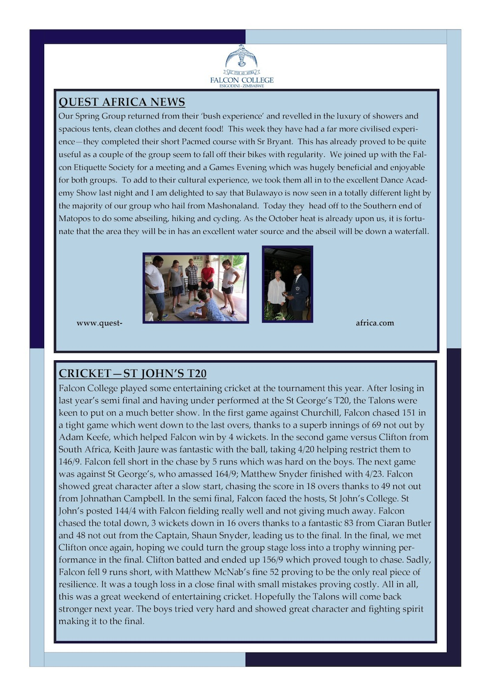 Headmaster's Newsletter Friday 2nd October 2015 edited-page-1