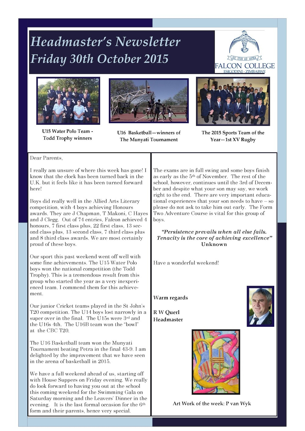 Headmaster's Newsletter Friday 30th October 2015 edited-page-0