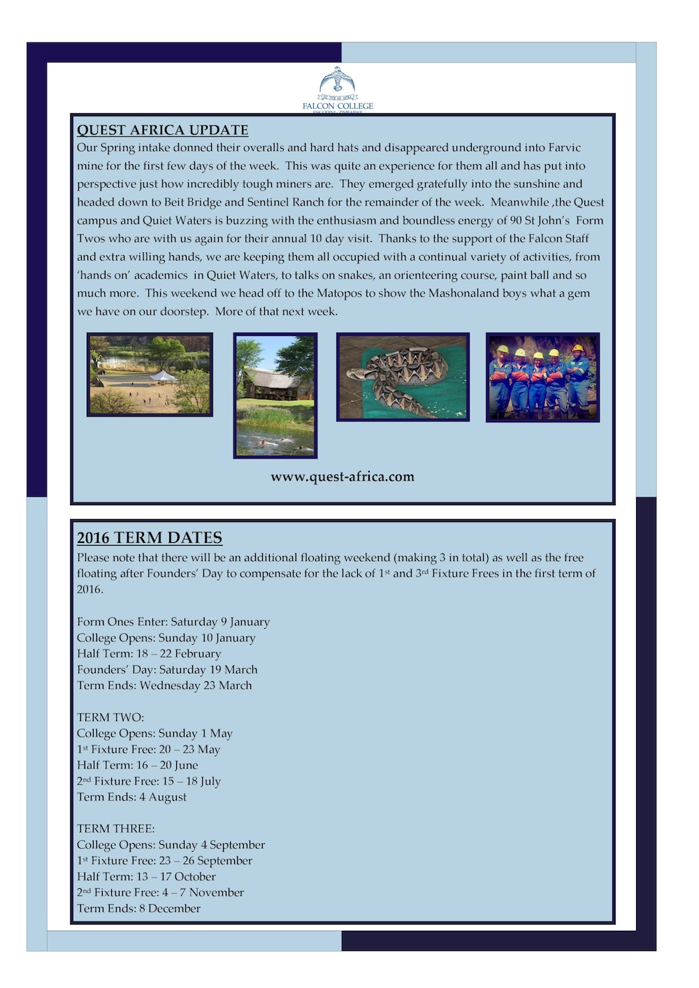 Headmaster's Newsletter Friday 30th October 2015 edited-page-1