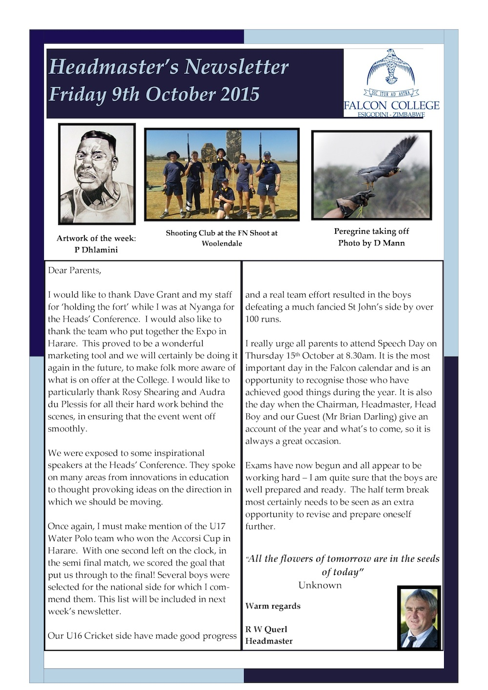 Headmaster's Newsletter Friday 9th October 2015 edited-page-0