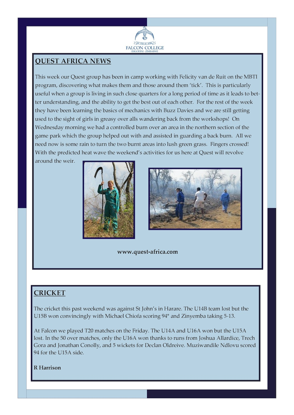 Headmaster's Newsletter Friday 9th October 2015 edited-page-1