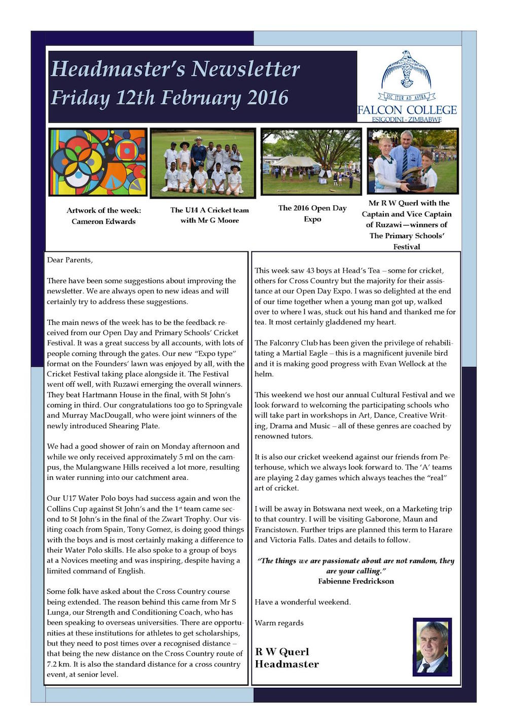 Headmaster's Newsletter Friday 12th February 2016 edited_000001