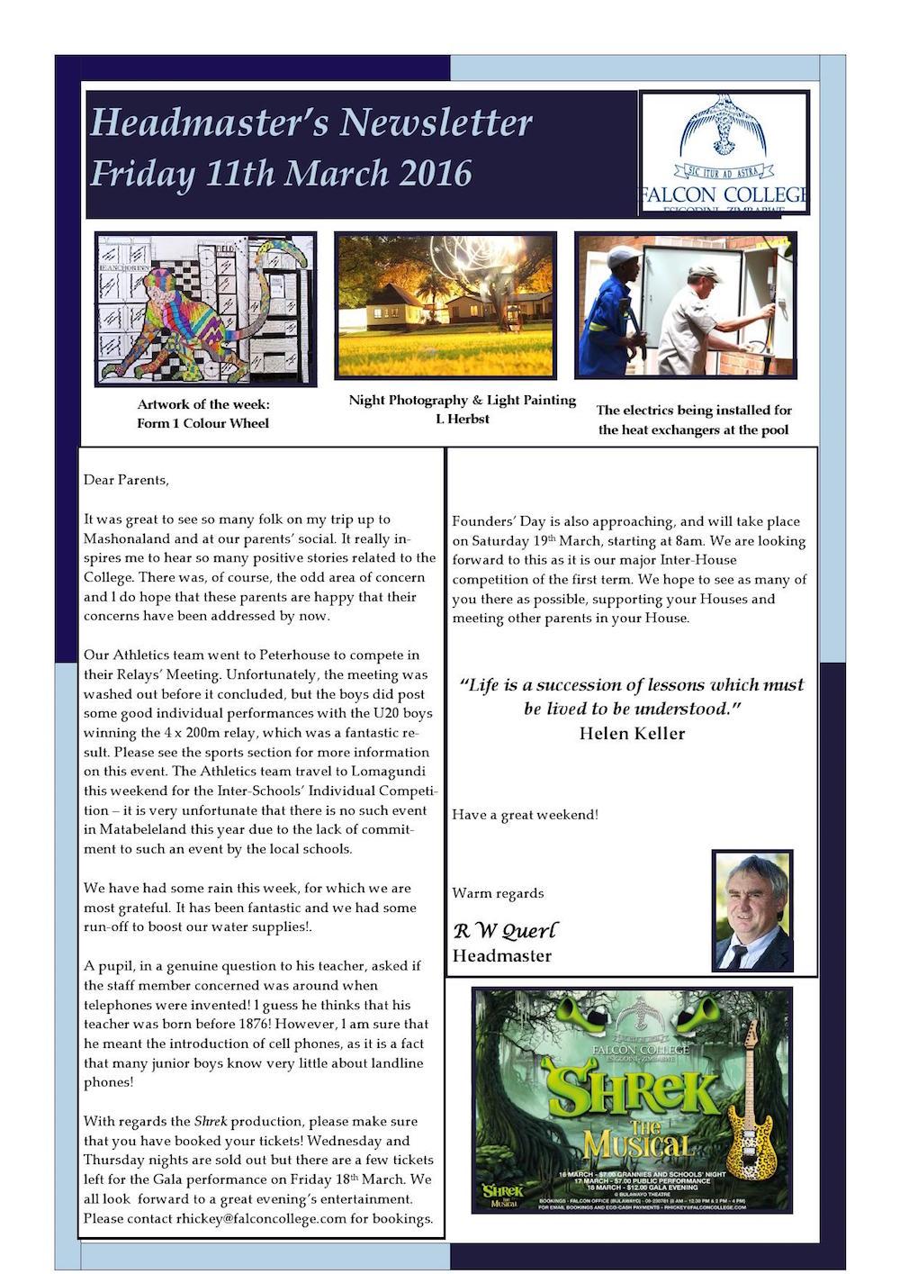 Headmaster's Newsletter Friday 11th March 2016 edited_000001