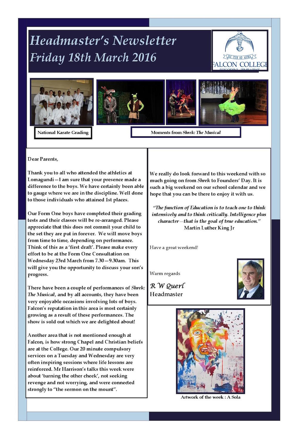 Headmaster's Newsletter Friday 18th March 2016 edited_000001