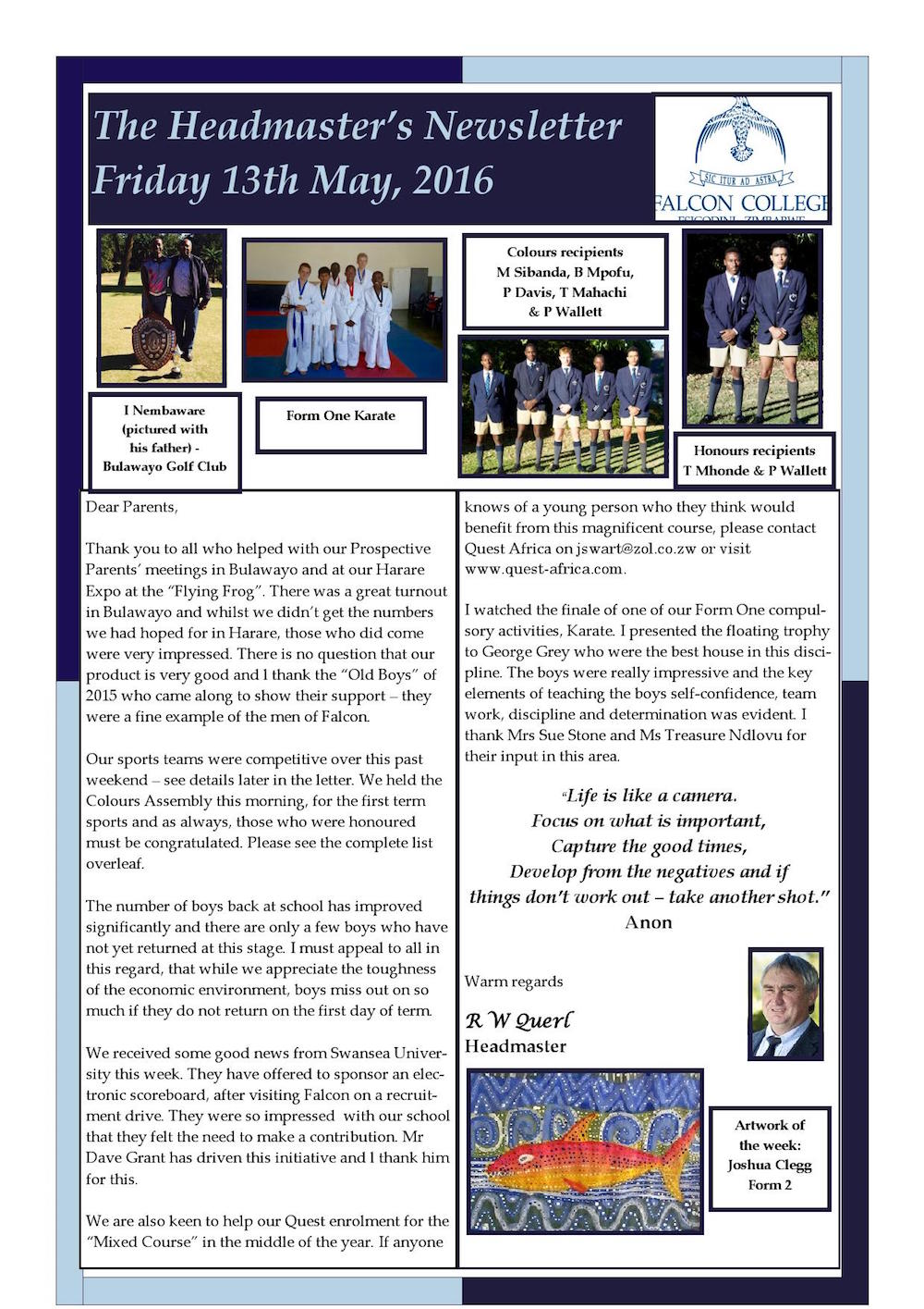 Headmaster's Newsletter Friday 13th May 2016 edited_000001