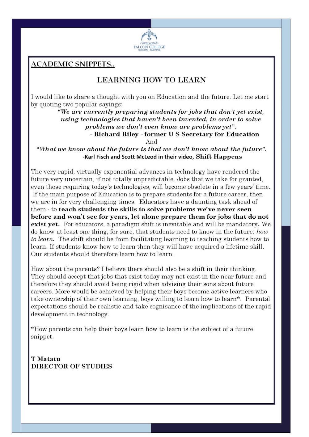 Headmaster's Newsletter Friday 20th May 2016 edited_000003