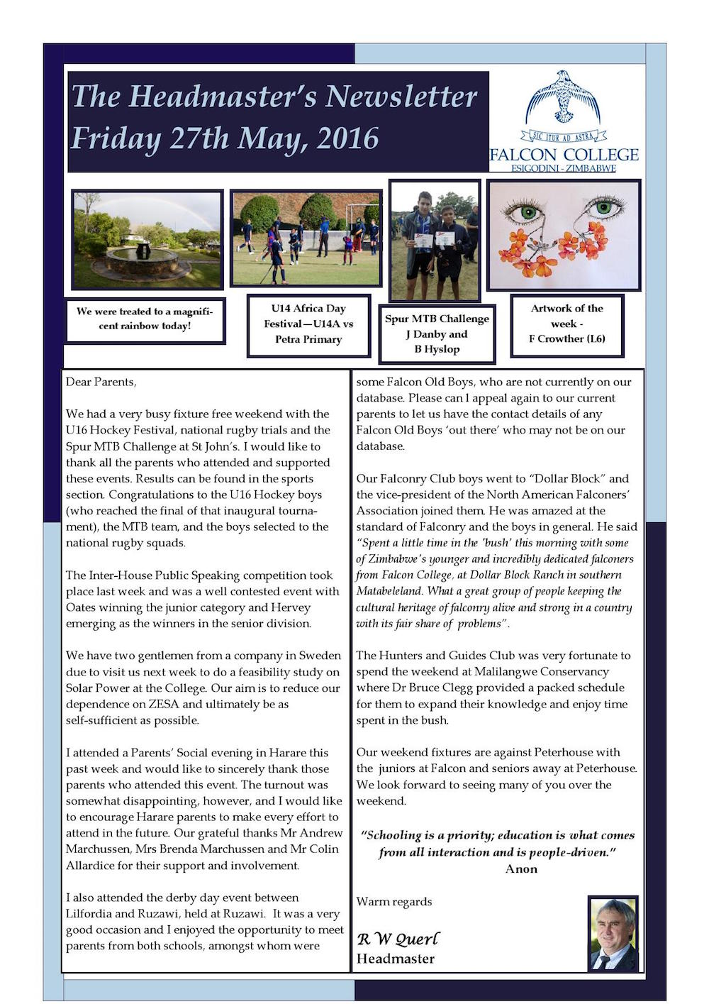 Headmaster's Newsletter Friday 27th May edited_000001
