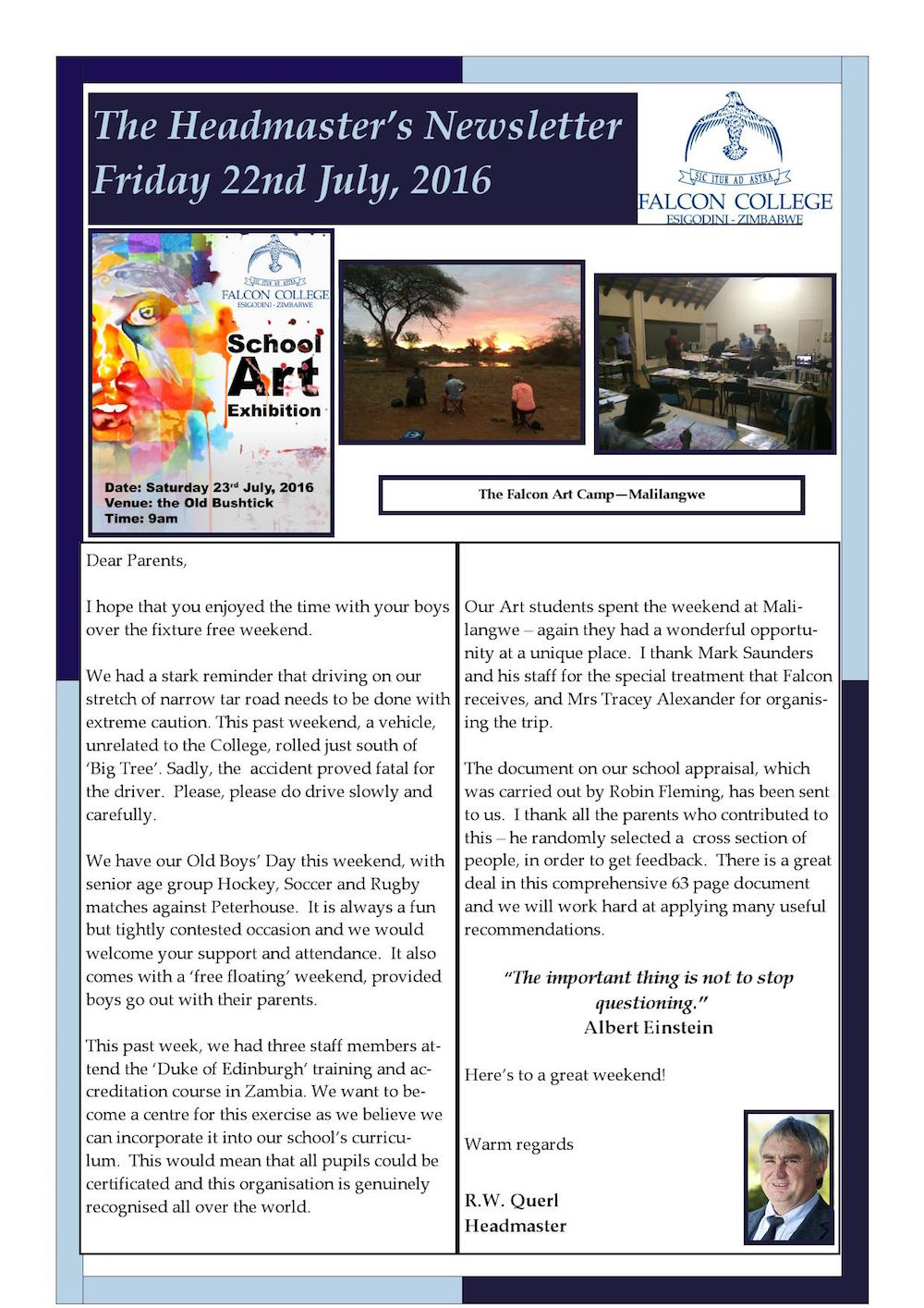 Headmaster's Newsletter Friday 22nd July 2016 edited_000001