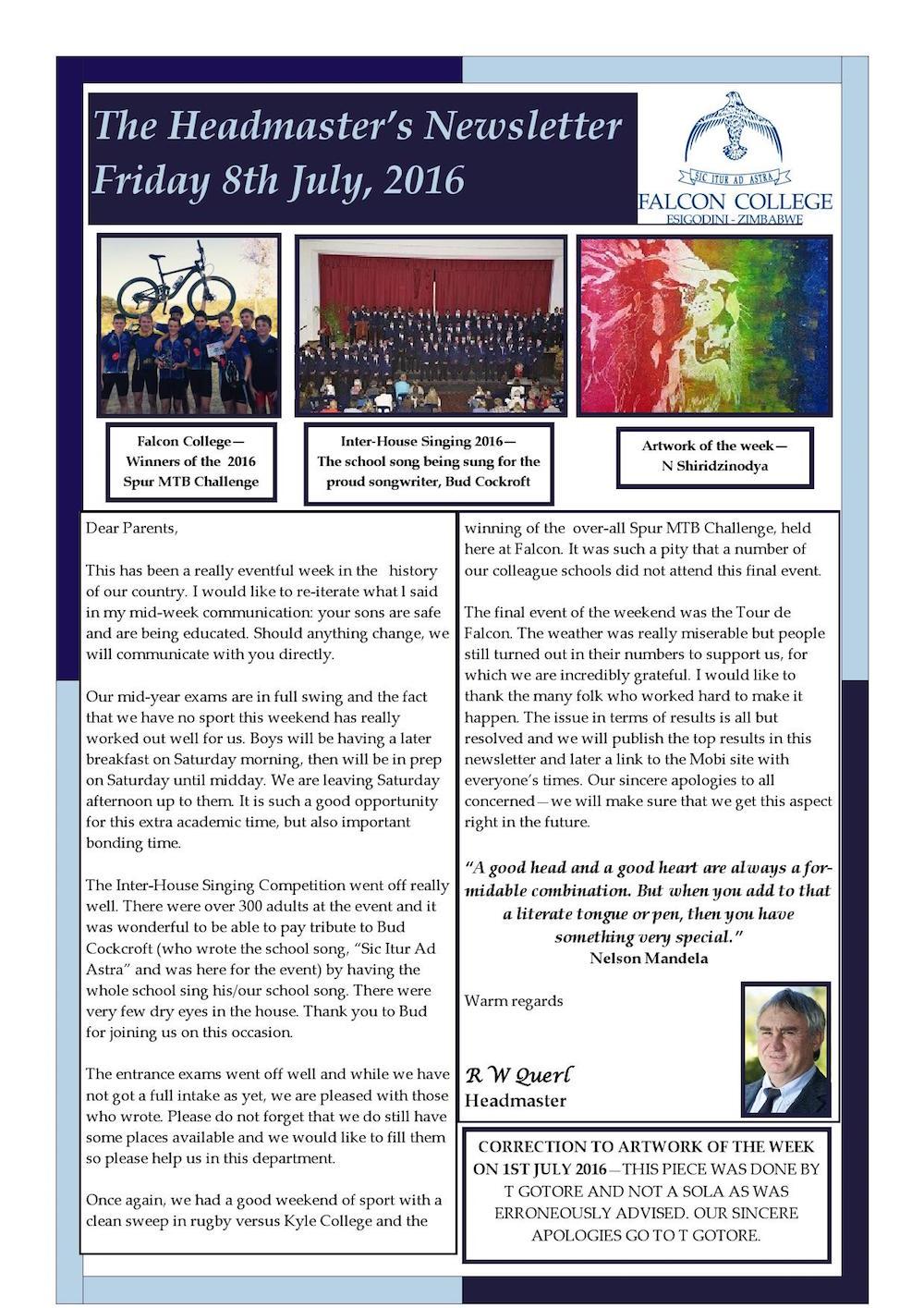 Headmaster's Newsletter Friday 8th July 2016 edited_000001