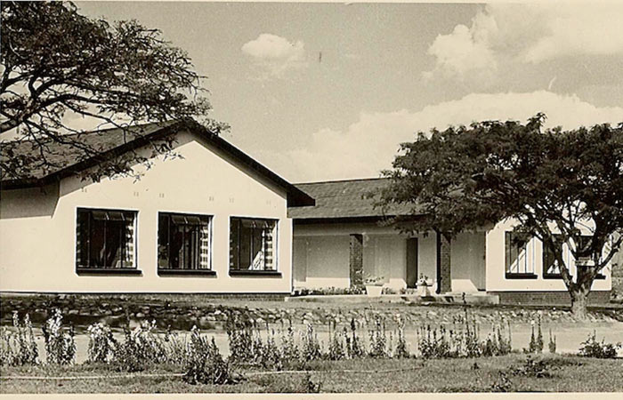 Old Photo of Boarding Home Falcon College